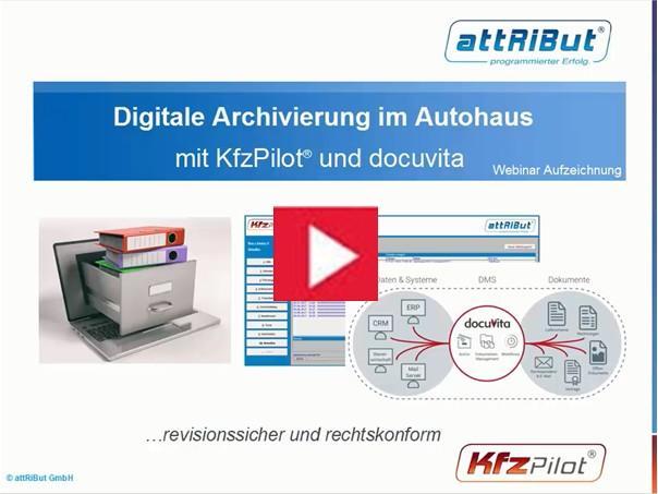 Digitale Archivierung im Autohaus