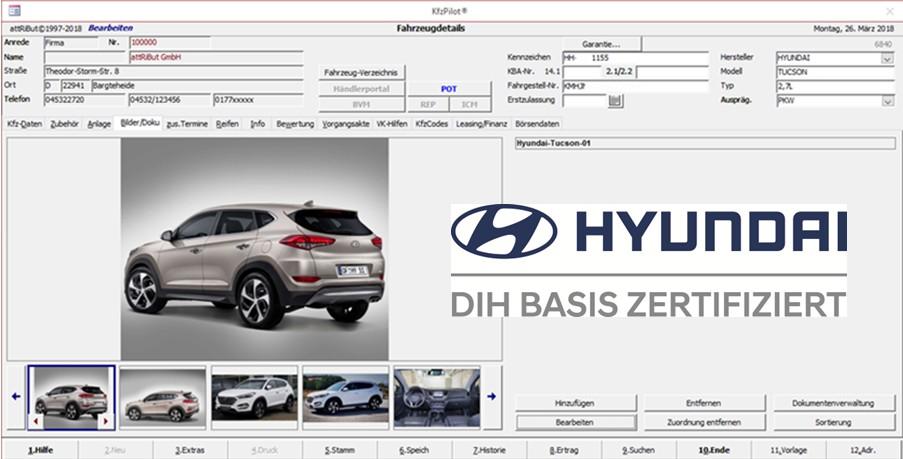 Hyundai DIH Zertifizierung